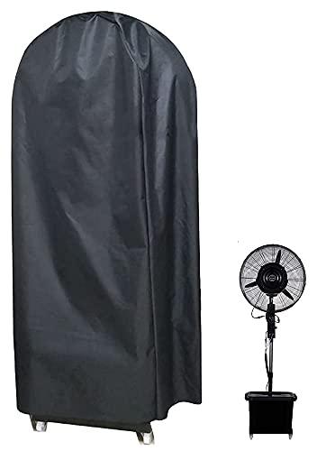 BOSKING Ventilatorabdeckung für Standventilator, wasserdicht, 600D Oxford, tragbar, elektrisch, Schüttelkopf, Standventilator, Staubschutz (S: 155 x 60 cm)