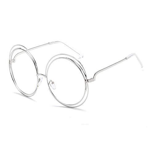 THJM Round Frame Women Sunglasses Real Film Sunglasses