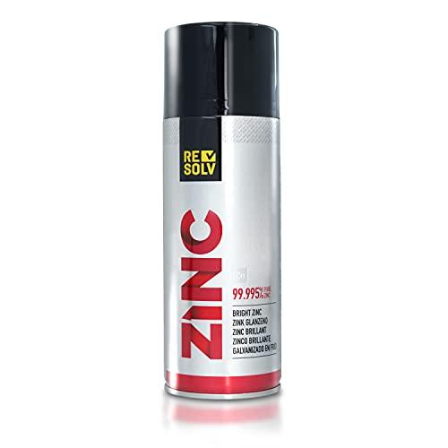Resolv :: Zinc - Zincante Spray Brillante [ Puro al 99.995% ]