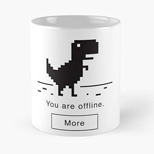 Reload Message AW Snap Crash Page Unexpectedly Webpage Best Mug Tiene 11oz de Mano Hechas de cerámica de mármol Blanco