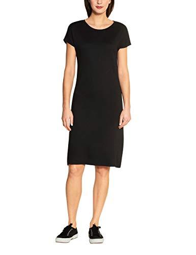 Street One Damen 142597 Kleid, Black, 40