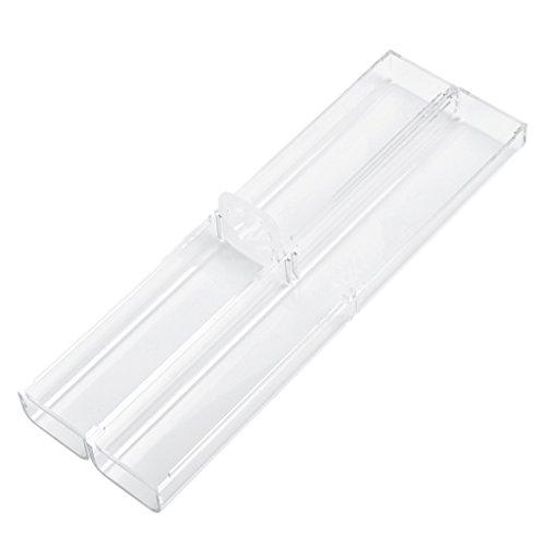 MagiDeal 10pcs Boîte de Rangement en Plastique Transparent pour Rangement Stylo à Microbille de Tatouage