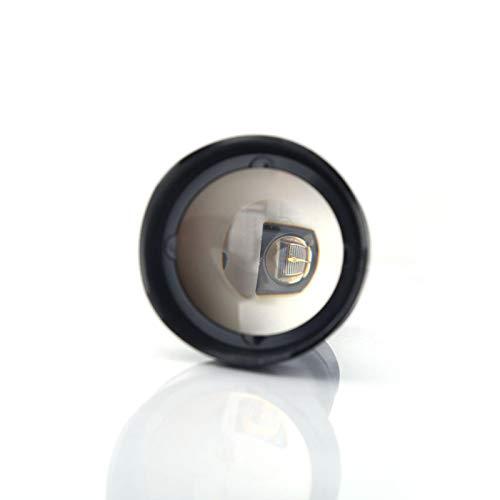 ROMACK Luz de visión Nocturna infrarroja IR LED Linterna Antorcha Aleación de Aluminio Portátil, para Caminar al Aire Libre, de Noche