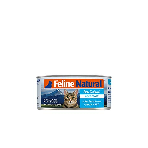 Feline Natural, Can Beef Feast, 3 Ounce - 24 Pack