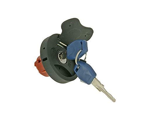 Tankdeckel mit Schloss + 2 Schlüssel - OEM - für Motorroller, Roller