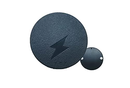 Ruohai La Base de módulos de Carga inalámbrica es Adecuada para Logitech G403, G502, G703, G903, GPRO, GPW Mouse DIY Modificado QI General