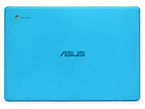 mCover Hard Shell Case for 2019 14-inch ASUS Chromebook C423NA Series Laptop - ASUS C423 Aqua