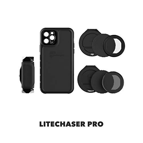 PolarPro LiteChaser Pro Visionary - Kit de Funda para iPhone 11 Pro (con Mango, Filtro polarizador y Filtro VND)