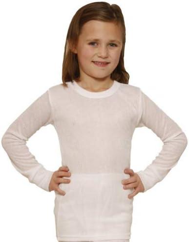 Octave Girls Thermal Underwear Long Sleeve Top (Viscose, Fancy Knit)