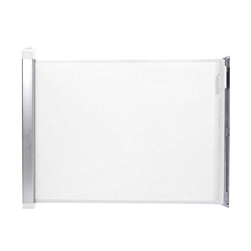 Lascal 12504 KiddyGuard Avant - Barrera enrollable de seguridad para puertas y escaleras (120 cm), color blanco