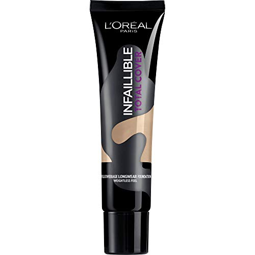 L'Oréal Paris Total Cover Base maquillaje cobertura total tono de piel medio...