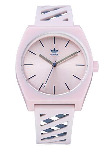 adidas Watches Process_SP2 - Cinturino in poliuretano a doppio strato, larghezza 20 mm (34 mm) Rosa trasparente / Tech Ink / Breeze