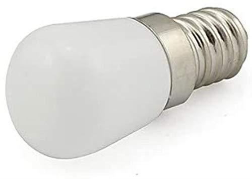 E14 Kylskåp Lampa 220V SMD 2835 mjölkvit Glass Cover Hög Indikator 3W Bulb (10-pack)