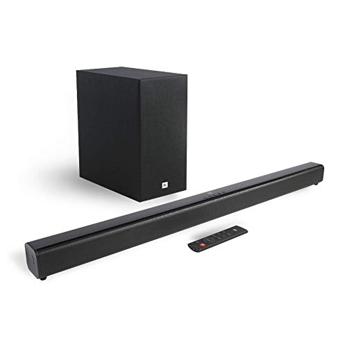 JBL Cinema SB261 2.1 Channel Soundbar with Wireless Subwoofer (220 Watts, Dolby Digital, Extra Deep...