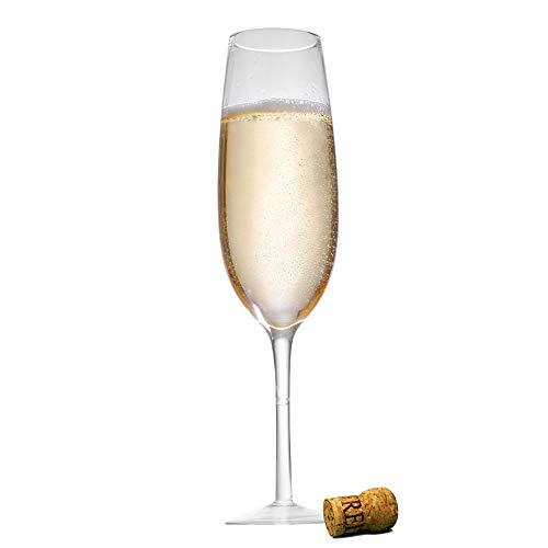 Monsterzeug XXL Sektglas, Riesenglas für Sekt und Champagner, großes Prosecco-Glas als Scherzartikel
