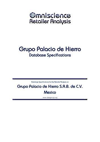 Grupo Palacio de Hierro S.A.B. de C.V. - Mexico: Retailer Analysis Database...