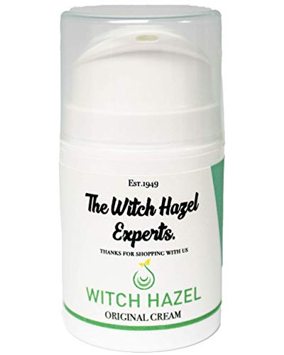 The Witch Hazel Experts | Distilled Witch Hazel & Zinc Oxide Antiseptic Cream for Rashes & Spots 50g