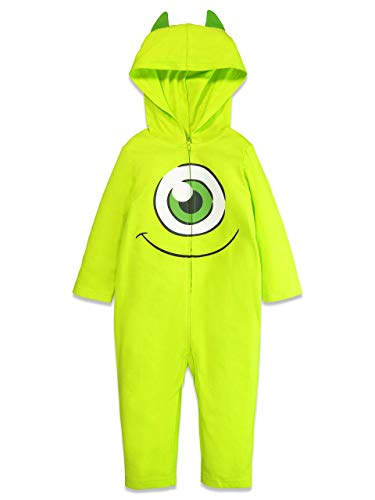 Disney Pixar Monsters Inc Mike Wazowski Baby Boys Costume Coverall 18 Months