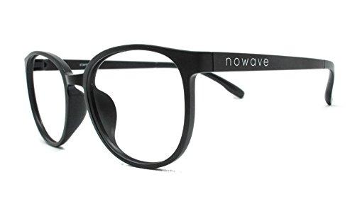 NOWAVE Occhiali neutri per PC, Tablet, TV e Gaming. Eliminano stanchezza e irritazione visiva. Montatura super leggera. Occhiali riposanti ANTI LUCE BLU 40% e UV 100%. Collezione 2020 | Stanley
