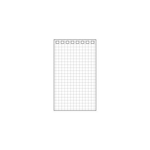 リヒトラブ ツイストリングノート専用リーフ メモサイズ 8穴 1組=40枚 N1660S