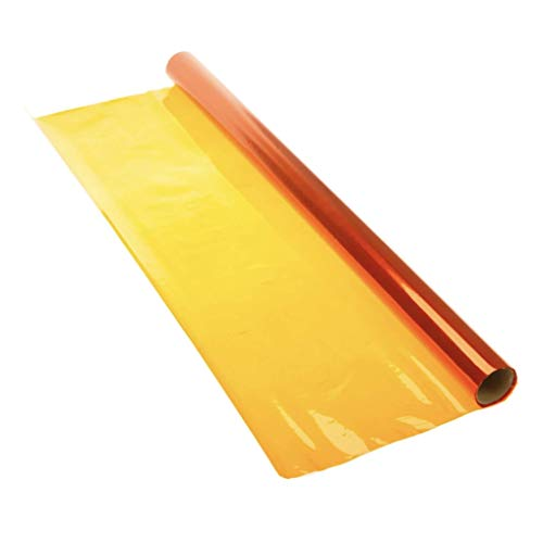 Amscan Cellophane Wrap, 40' x 30', Amber