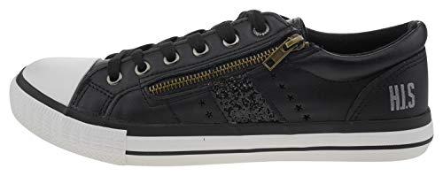 HIS Damen Sneaker 16wv0085, Groesse:41.0
