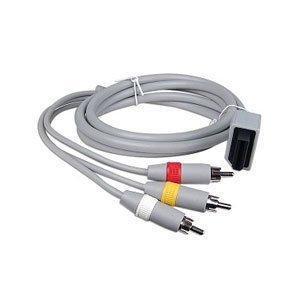 giZmoZ n gadgetZ 3-RCA AV Gemischtadrige Kabeleinführung für eine Nintendo Wii/Wii U Spielkonsole