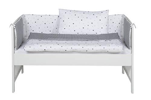 Schardt Beistellbett 03 065 19 02 | In Weiß | 85 x 77 x 124 cm