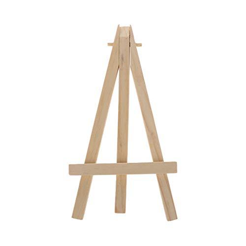 MYA 1 stuk natuurlijk hout mini ezel frame statief statief ezel van hout voor bruiloft nummer, naam, schildersezel van…