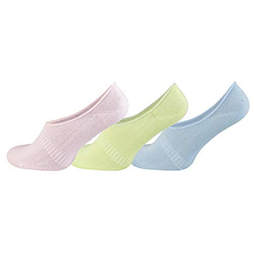 TippTexx24 6, 9 oder 12 Paar Damen/Herren UNSICHTBARE Füsslinge, Sneakersocken aus Bambusviskose (Sneaker-Socken) (39/42-6 Paar, Füßl-pastell)