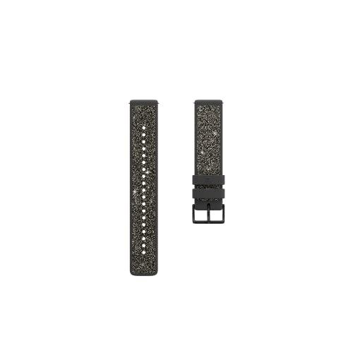 Polar Unisex– Erwachsene Kristall 20mm Armband fur Fitnessuhr, Kristallgrau, S
