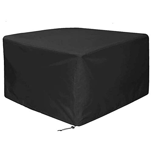 BETTERLE Square Table Cover Garden Furniture Covers Large Waterproof Protective Outdoor Garden Cover for Furniture Rectangular Table Cover (120 x 120 x 74cm)
