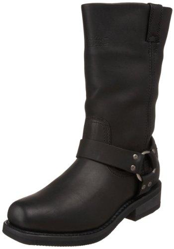 Harley-Davidson Men's Hustin Waterproof Harness Boot,Black,11 W US