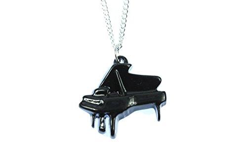 Miniblings Concierto de Piano de Cola del ala Cadena Collar