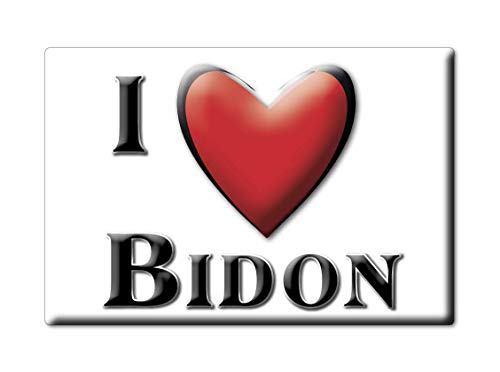 Enjoymagnets BIDON (7) Souvenir IMANES DE Nevera Francia Auvergne IMAN Fridge Magnet Corazon I Love
