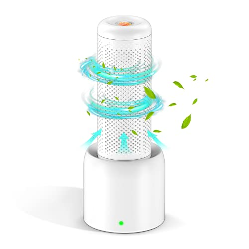 Mini Dehumidifier, UooEA Gun Safe Dehumidifiers 2 Hours Fast Recharge,Safe Detachable Heating Base Design,Portable Dehumidifier for home ,RV, Bathroom, Closet, Car,Small Space(Include Heating Base)