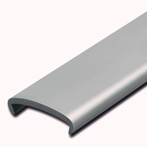Softkante 19mm, Grau, Stoßkante, Schutzkante, Kantenschutz