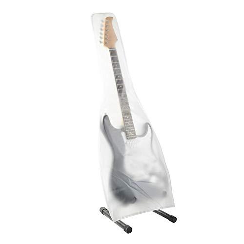 Cubierta antipolvo para guitarra acústica, eléctrica, bajo y PVC, resistente al agua, protege la cubierta de las bolsas de guitarra acústica, evita el polvo, la suciedad y el sol.