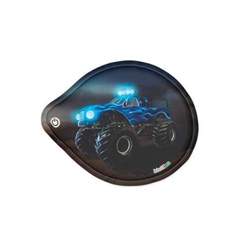 Ergobag ERG-LED-001-006 LED-Klettie Blinkie, Mehrfarbig