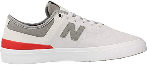 New Balance Numeric 379 (Grey/Red) Men's Skate Shoes-10.5