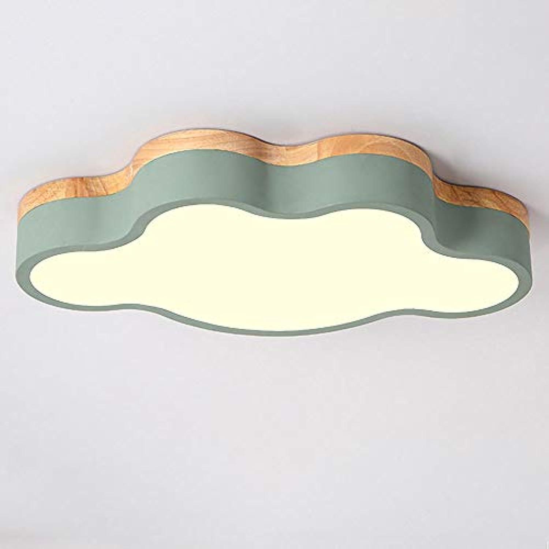 Wandun Deckenleuchte LED Kreative Wolken Deckenlampe Kinderzimmer Decke Licht Jungen Und Mdchen Schlafzimmer Lampe Kinder Deckenein bauleuchte [Energieklasse A ++]
