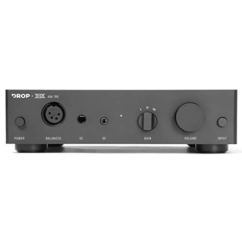 Drop + THX AAA 789 Linear Headphone Amplifier - Desktop Amp with Balanced XLR and Single-Ended RCA Inputs