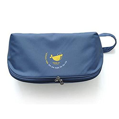 Funnymade パーティションアンダーウェアバッグ トラベルポーチ 小物入れ ポーチ かわいい トラベルバッグ 旅行バッグ トラベルグッズ ケースすっきり 旅行バッグ 旅行 便利グッズ 旅行用品 (WHALE)