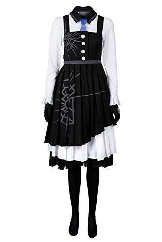 UU-Style Danganronpa V3 Killing Harmony Kirumi Tojo Cosplay Kostüm Dienstmädchenkleid Ballkleider -  Schwarz -  Large