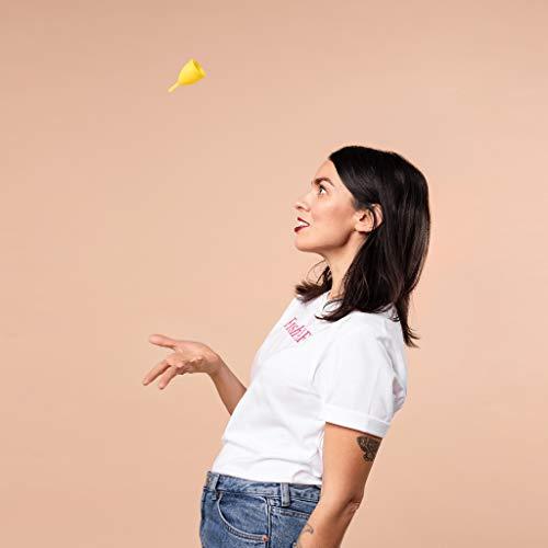 Lunette Menstruationstasse – Pink – Model 2 für normale oder starke Blutung – Special Edition - 6
