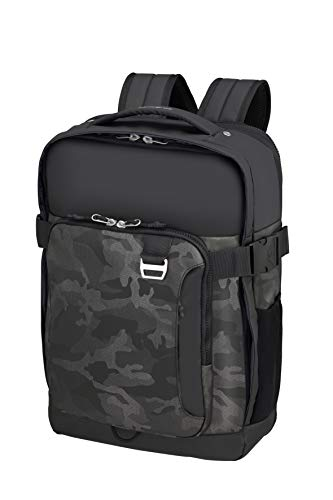 Samsonite Midtown Laptop backpacks, 15.6 inch Expandable (45 cm - 32 L), Multicolored (Camo Grey)