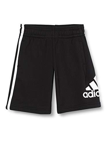 adidas JB Bos Short Pantaloncini Sportivi, Bambino, Black/White, 3-4Y