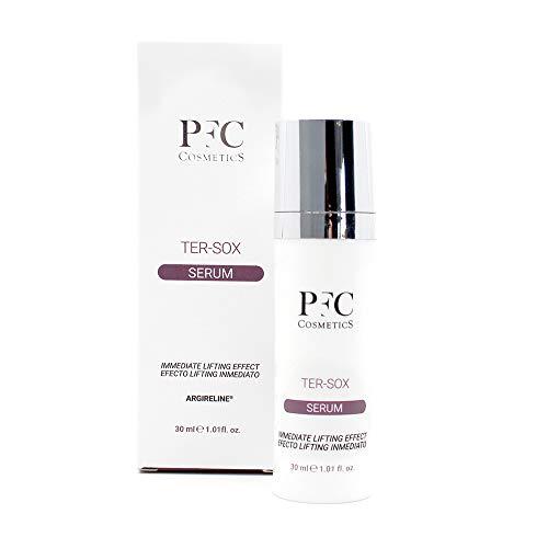 PFC Cosmetic Siero Viso Ter-Sox Etteffo Botox 30 ml Trattamento anti-age con Argireline Crema delicata anti-age naturale per la cura del viso e della pelle