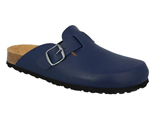 Lico Unisex-Erwachsene Bioline Clog Pantoffeln (Blau, Numeric_44)