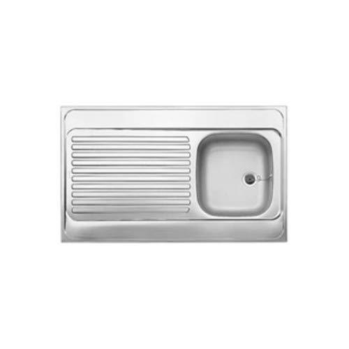 Blanco Auflagespüle R-ES 10 x 6 Edelstahl-Spüle Naturfinish